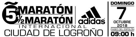 Recorrido - Maratón Ciudad de Logroño 2018