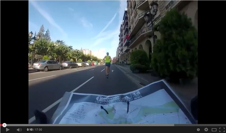 Recorrido Maratón y Media Maratón Adidas Ciudad de Logroño